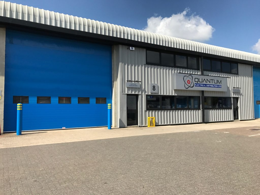 Quantum Electrical Crawley branch warehouse