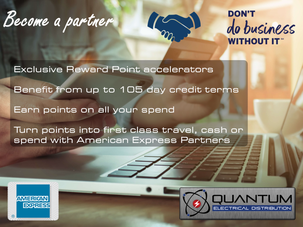 Quantum Electrical American Express