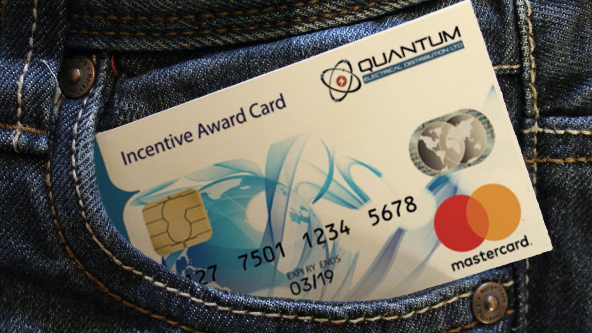 Quantum Eadenred rewards card