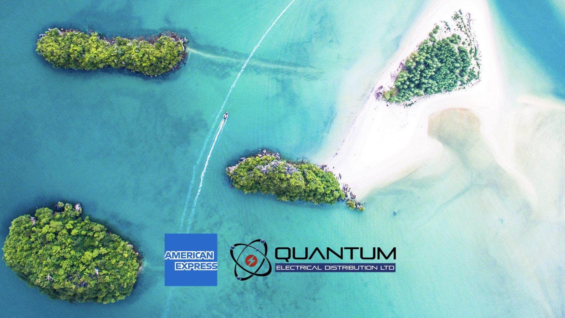 Quantum electrical American Express island