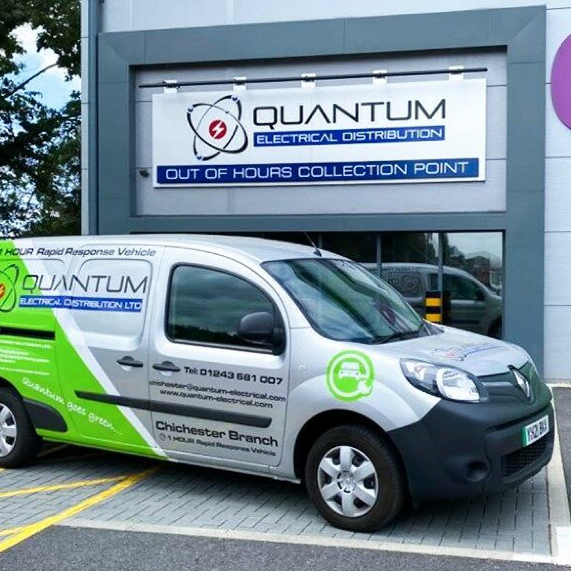 Quantum's Quick delivery vans